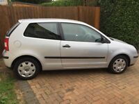 Volkswagen Polo 1.2 S, Long MOT, Cheap TAX, Lovely condition, Full service history