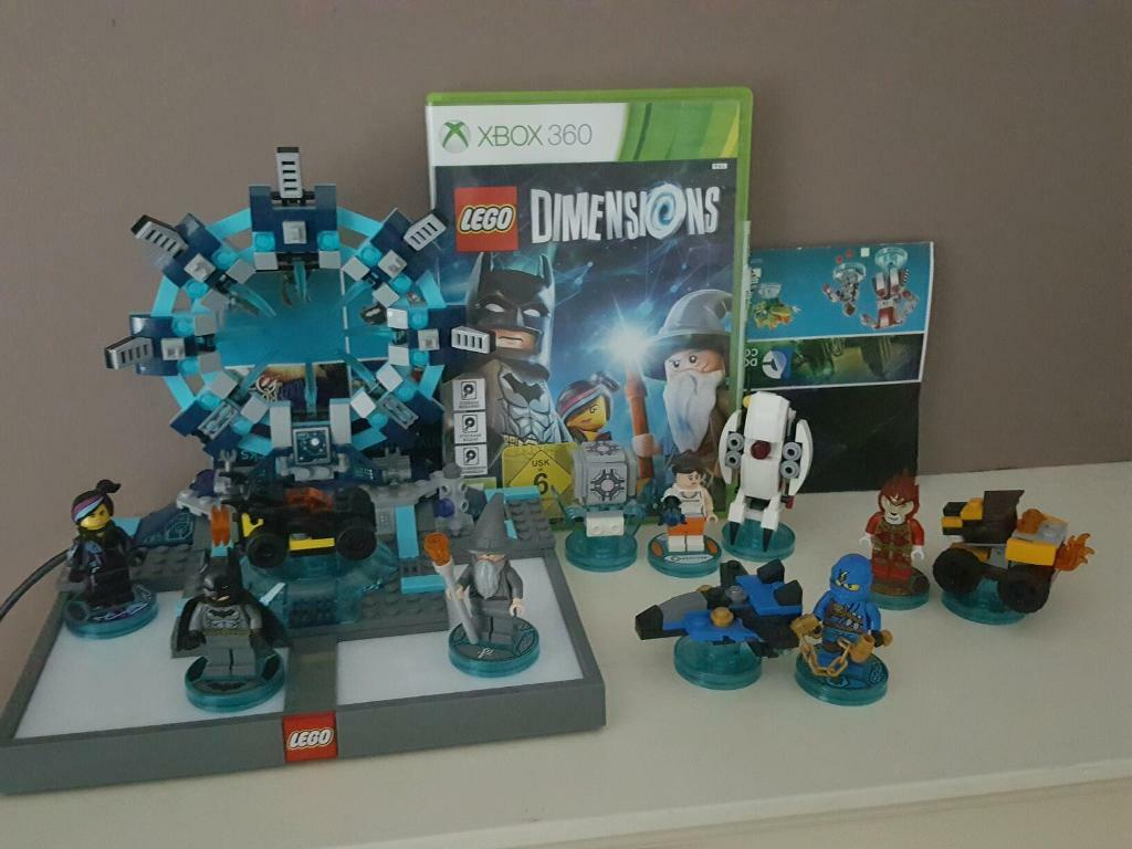 lego dimensions starter pack plus extra figures vehicles in lisburn county antrim gumtree. Black Bedroom Furniture Sets. Home Design Ideas