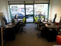 DESK TO RENT IN A CORPORATE OFFICE (Close to Goodmayes & Chadwell Heath stations)