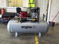 Engine air petrol air compressor 200ltr