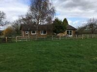 2 bedroom rural bungalow to rent