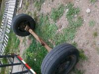 dodge caravan rear axle