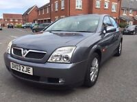 Vauxhall VECTRA 2.2 petrol automatic.