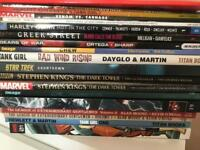 Various graphic novels cominc