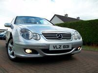 2005 MERCEDES C220 CDI COUPE 6SPEED 99000 GENUINE MILES MANUAL