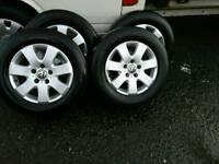 Genuine vw t5 caravelle alloy wheels