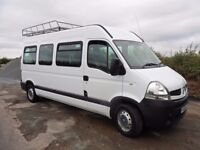 RENAULT MASTER MINIBUS 17 SEATS CURRENTLY 9 SEATS 2008 ONLY 42000 MILES LWB