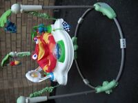 Fisher-Price Rainforest Jumperoo (Good Condition) (Set up - With Batteries)