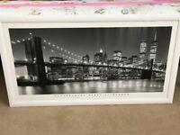 Landscape large framed photo. No glass in frame.