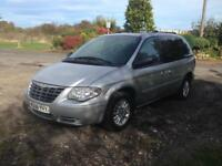 06/06 CHRYSLER VOYAGER LXD 5DR 7 SEATER AUTOMATIC MPV