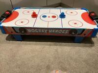 Kids hockey hero's tabletop hockey game