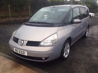 2004 renault espace 2.0 petrol,,mot.23.07.17.price;£ 790 ono px/exch