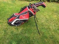 Ladies/Junior golf Taylor Made Super Steel Burner Graphite shafts with Bag and Driver and Putter