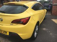 Vauxhall Astra gtcSri turbo