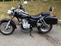 125 cruiser bike 66 plate