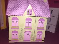Dolls House & some furniture set