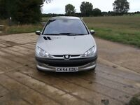 PEUGEOT 206 DIESEL £30 A YEAR ROAD TAX 60 MPG CHEAP INSURANCE