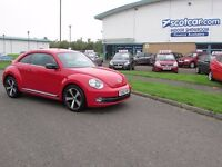 VOLKSWAGEN BEETLE 1.4 SPORT TSI REDUCED £1000 3d 158 BHP One Owner, (red) 2012