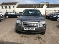 Reg.07/06/2007 LAND ROVER FREELANDER GS TD4 ESTATE 2.2 DIESEL, FSH, 4x4, TIMING BELT+WATER PUMP