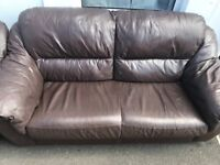 2 Argos (Rimini I think) sofas a good few years old, still some life left in them, quick sale £10