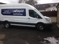 Ford transit tipper for hire £80 per day