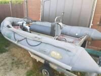Avon Seamaster 4m Ribbe boat