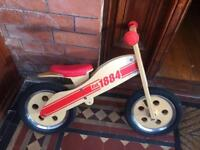 High Quality Wooden balance bike