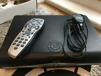 Sky +HD 250GB Box w/remote and power cable