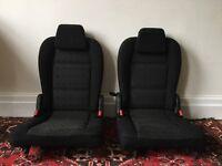 Peugeot 307 SW 3rd row seats black