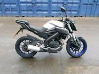 Yamaha mt 125 abs 2016