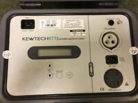 Uncalibrated Kewtech KT73 Pat tester