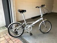 Folding bicycle in top condition