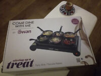 Come Dine With Me Tabletop Wok/Pancake set for 6 Brand New Unused in Box