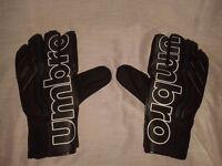 Brand new Black Umbro gloves