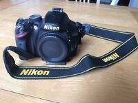 Nikon D3200 DSLR Camera kit c/w AF-S DX Nikkor 18 - 55mm f/3.5-5.6G VR Lens