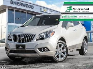 2016 Buick Encore CXL AWD Pearl White & Only 16,000KMS!!