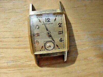 "Hamilton ""Brent"" 14K Gold Filled Men's Vintage Wristwatch"