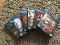 Supernatural seasons 1 - 6 on blu ray