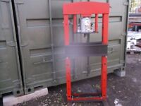 50 ton sealey workshop press tested and working very heavy