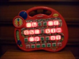 Vtech ABC alphabet desk