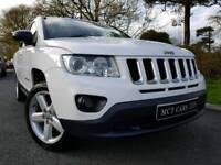 Nov 2011 Jeep Compass 2.2 Crd Limited 4x4, Heated Leather! Sat-Nav! Absolute Stunner! As New!