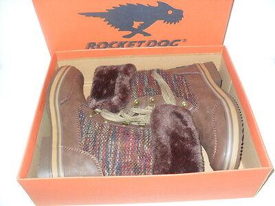 Rocket Dog Suri Horizon Knit SURI-TBRN Tan Leather Snow Boot Medium (B, M) Women