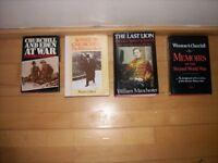 7 books on Winston Churchill