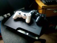 Ps3 console 120gb 2 pads