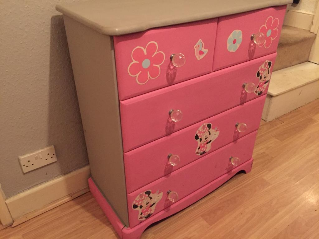 Minnie Mouse Chest Of Drawers