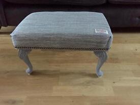 Retro upcycled shabby chic vintage stool