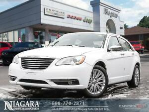 2012 Chrysler 200 LIMITED | LEATHER | SUNROOF | NAVI | LOADED!