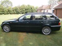 BMW E46 330d Sport Touring Auto Oct 2002, 12 Months MOT, £1750