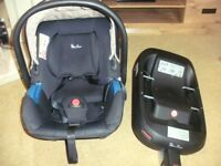 SILVER CROSS SIMPLICITY BABY CAR SEAT BABY CARRIER WITH ISOFIX
