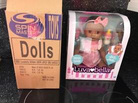 Luvabella doll African American